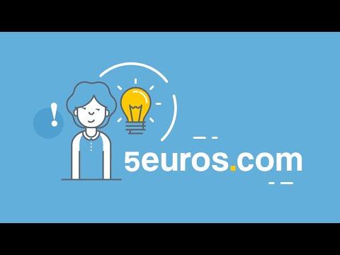 Vidéo Comment marche 5euros.com ? Automne 2016