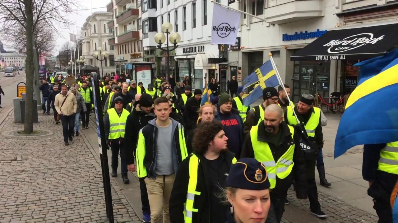 Gula Västarna: Gula Västarna Göteborg 17 Feb 2019