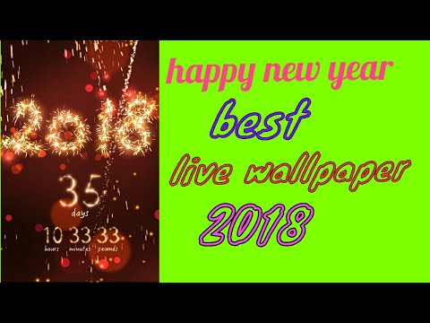 happy new year best live wallpaper 2018