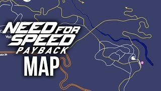 NEED FOR SPEED PAYBACK - MAP SIZE & DETAILS