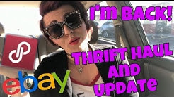 ( I'm Back! ) Thrift Shop Haul Video | Thrifted clothes to sell on POSHMARK and EBAY | Rad Seller