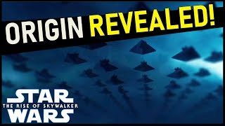 Origin of the Sith Fleet revealed! -- New The Rise of Skywalker Leak!