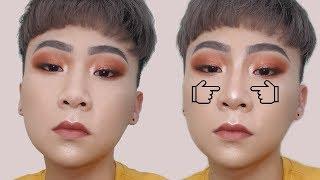 不用整形就擁有高挺鼻!!超簡單鼻影教學 The nose contour tutorial!   Brian Makeup