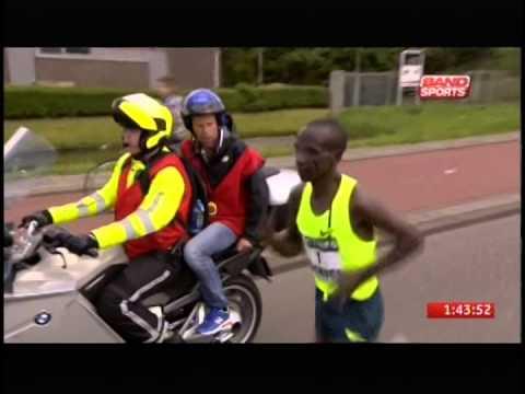 Maratona de Roterdã - masculina - 2014