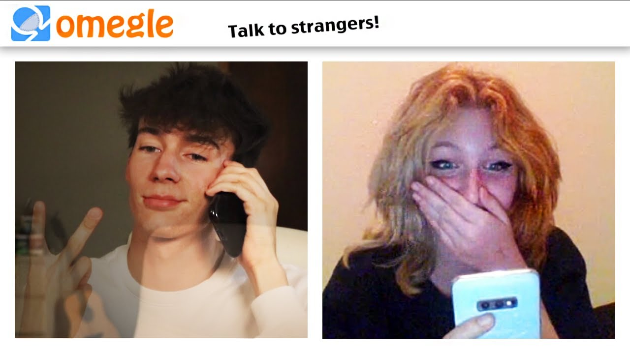 DISAPPEARING then CALLING THEIR CELLPHONE on OMEGLE!