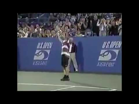 Andre Agassi Top 10 Best Points Ever