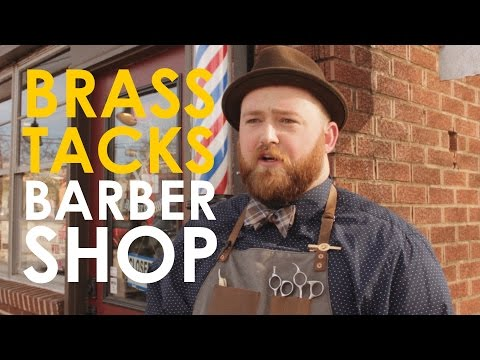 Shave and A Haircut: Brass Tacks Barber Shop | The Art of Manliness