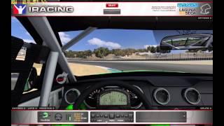 iracing 2013 season 1 build first run ford mustang fr500s
