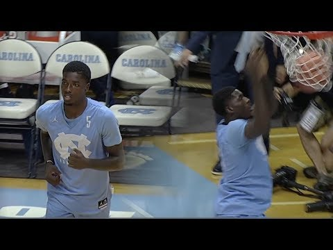 Jalek Felton Highlights North Carolina Tar Heels Debut at Late Night With Roy