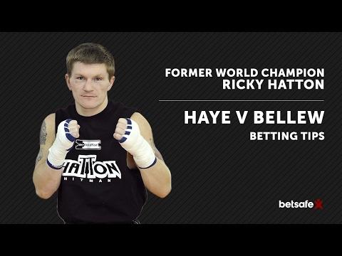David Haye v Tony Bellew Preview - Ricky Hatton
