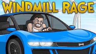 WINDMILL RACE RAGE!! - GTA 5 Funny Moments (Grand Theft Auto 5)