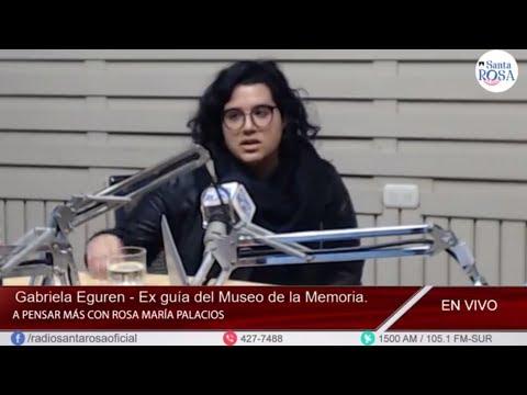 PERÚ - Gabriela Eguren entrevistada por Rosa María Palacios - Radio Santa Rosa