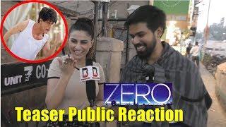ZERO Teaser Public Reaction | Shahrukh Khan | Anand L Rai | Anushka Sharma | Katrina Kaif