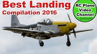 RC Plane Only Best Landings Compilation 2016 - RC Plane Video Channel
