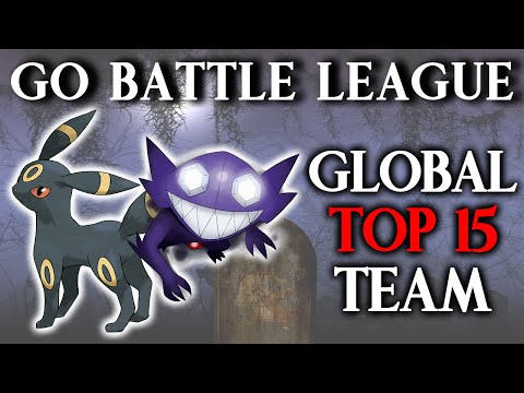 GO Battle League: Reaching Global Rank #15 with Double Darks! (Great League)