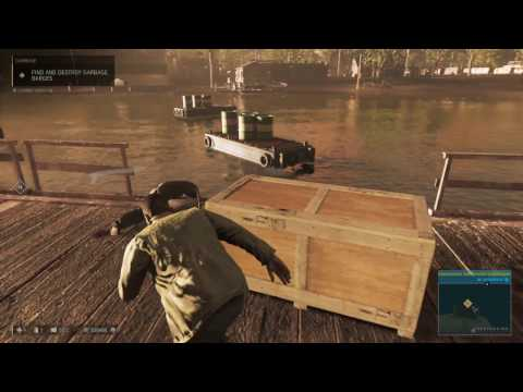 Mafia 3 The Dead Stay Gone Part 7 Find And Destroy Garbage Barges