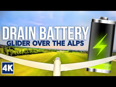 Glider Adventure over the Alps in a 4K Ultra HD Video