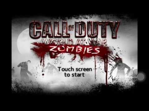 COD: WaW Zombies Mobile Gameplay