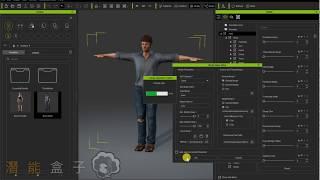 Charakter Creater教學 07 個人化變形 搭配外部Maya等軟體