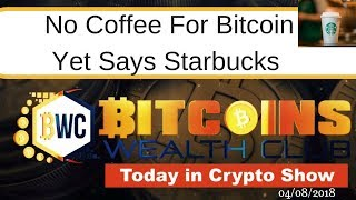 No Coffee For Bitcoin Yet...