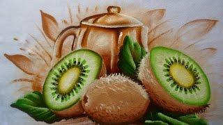 Como pintar Kiwi