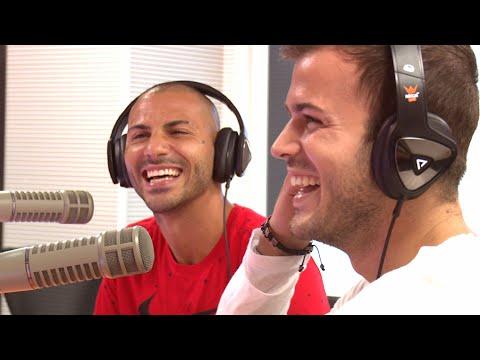 Ricardo Quaresma nas Mega Manhãs com David Carreira