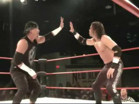 John McChesney vs. Adam Flash - Ladder Match (1/3)