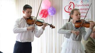 *Нактюрн* Микаэл Таривердиев. Скрипки