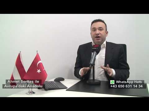 31 Aralık Avrupa'daki Anadolu Avusturya'dan Haber Başlıkları