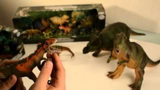 """Динозавры Megasaurs из фильма """"Мир Юрского периода"""" Jurassic World"""