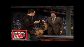 [Talk Shows]Jimmy Fallon Animals : a Giant RattleSnake, Lizard, Sloth, Kangaroo, and a Hedgehog wit
