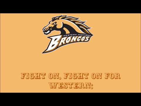 Western Michigan Broncos Fight Song