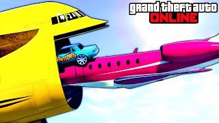 GTA 5: Online - Stunts, Funny Moments & Fails Compilation feat. New DLC Vehicles