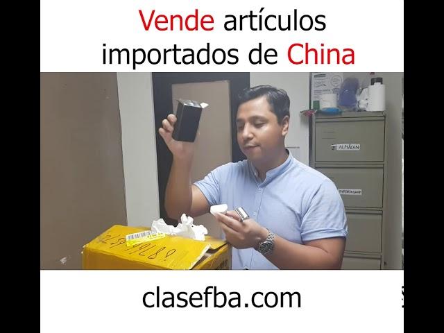 Vende artículos importados de china