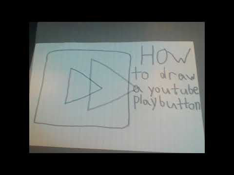How To Draw A Youtube Play Button Youtube