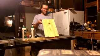 How To Build Langstroth Five Frame Beehive Bottom Board