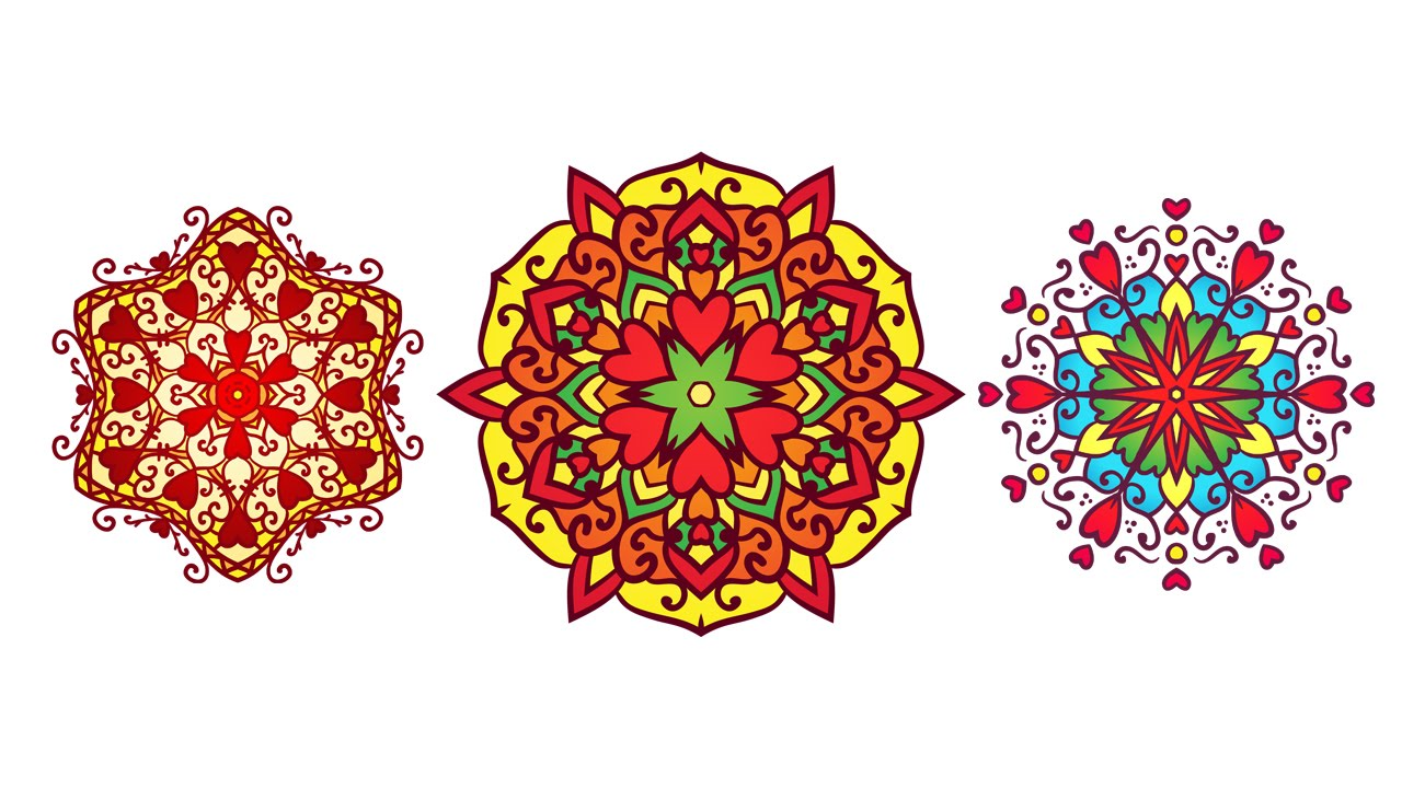 Love Mandala Speed Video using MirrorMe Plugin