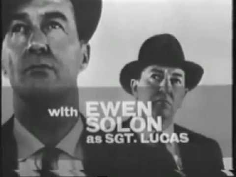 """Maigret"" UK TV series (1960--63) closing credits sequence"