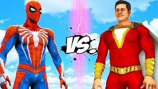 SPIDER-MAN VS SHAZAM - EPIC BATTLE