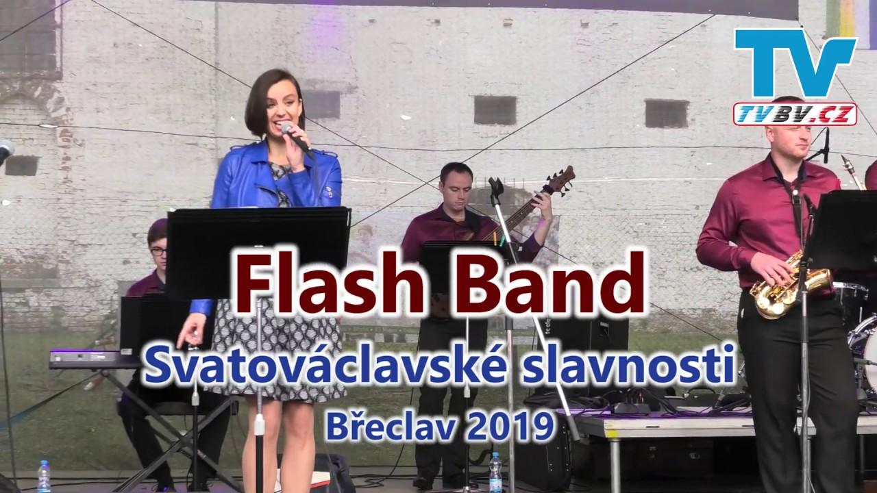 Flash Band - 1.část - Svatováclavské slavnosti Břeclav 2019