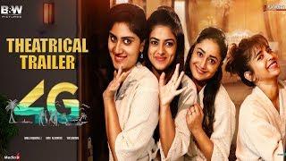4G MOVIE TRAILER ( Malayalam ) - Dhanya Balakrishna, Tridha Choudhury, KomaleE Prasad ,Siddhi Idnani