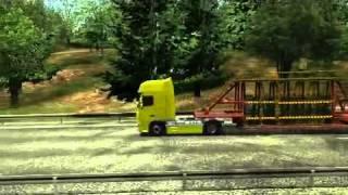 German Truck Simulator: Gameplay Trailer