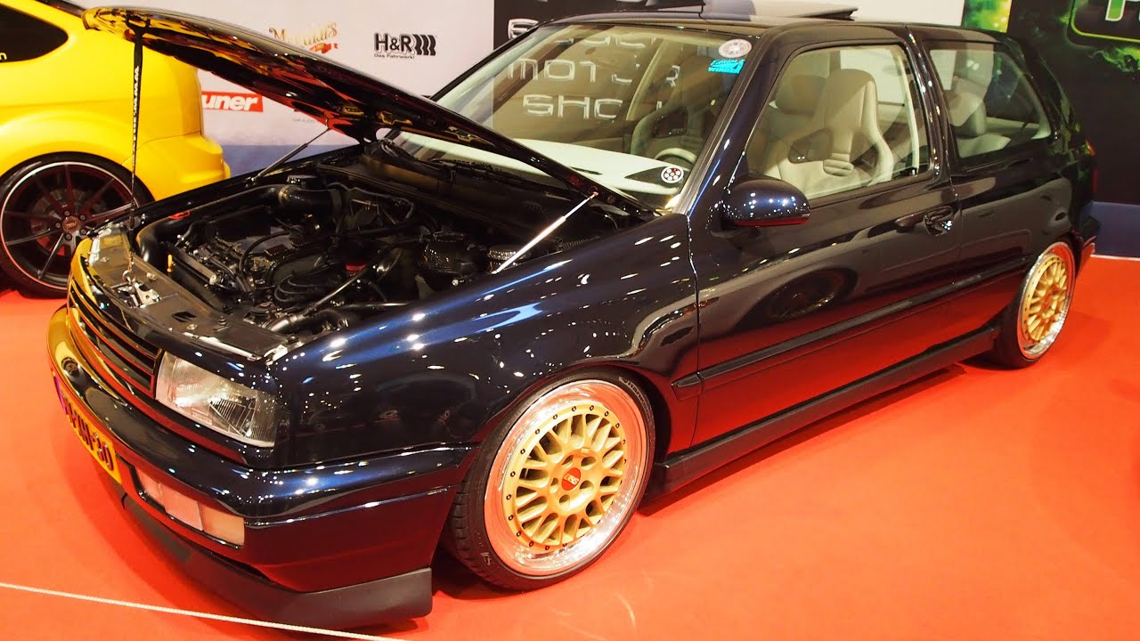 volkswagen golf 3 vr6 1996 turbo 500 ps tuning at essen. Black Bedroom Furniture Sets. Home Design Ideas