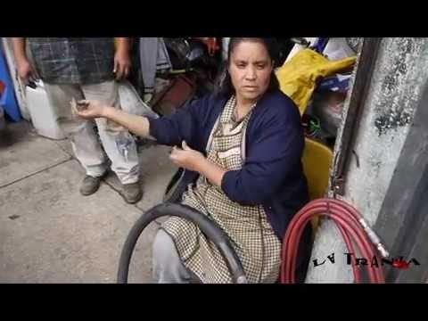 Tepito: Taller de Bicicletas Familia Ortega