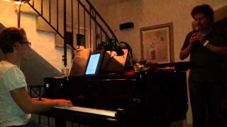My Way, deutsch (Piano / Gesang)