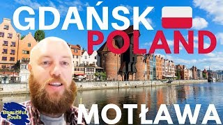 Gdańsk Poland Motława River And Stare Miasto Gdańsk Travel VLOG Poland
