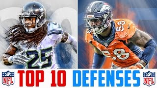 10 Best NFL Defenses - Top 10 NFL Defenses 2017 | NFL Rankings