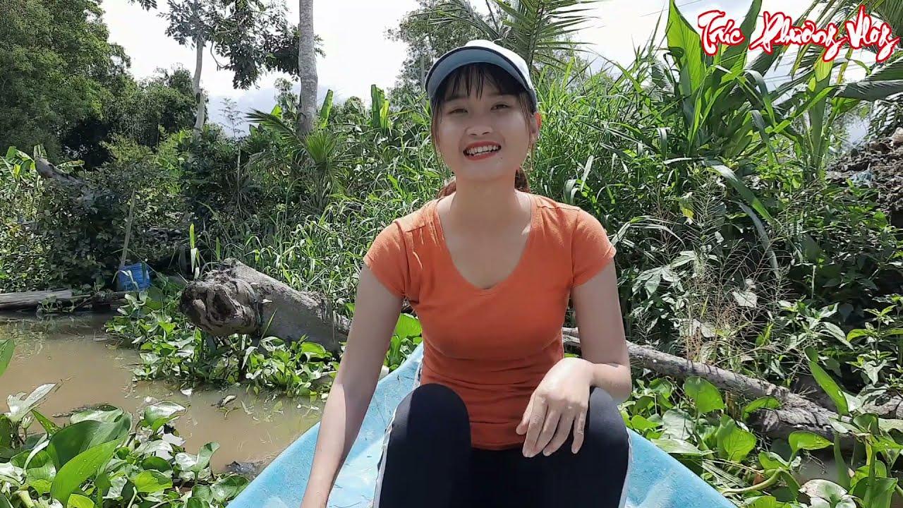 Thôn Nữ Kết Thúc Chuyến Bẫy Cá Cùng Những Điều Bất Ngờ Trên Sông   Trúc Phương Vlog