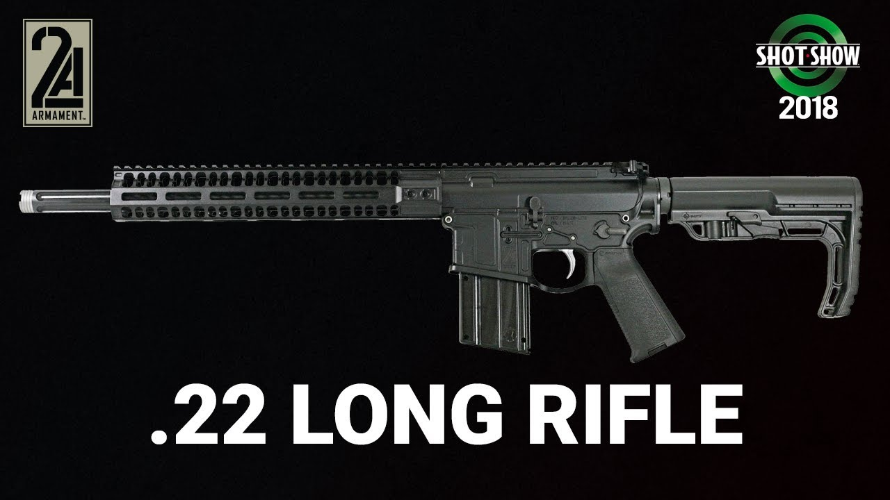 2A Armament Balios  22 Long Rifle - SHOT Show 2018 Day 2