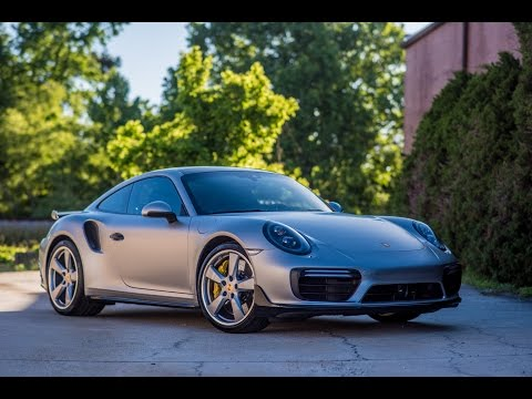 Porsche 911 Turbo S with a SATIN clear bra wrap and Modesta body coating